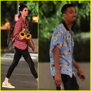 Kendall Jenner Gets Flowers From Rapper Taco After Night Out