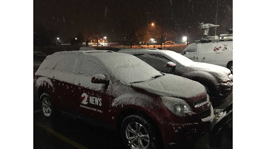 Snow arrives in the Miami Valley