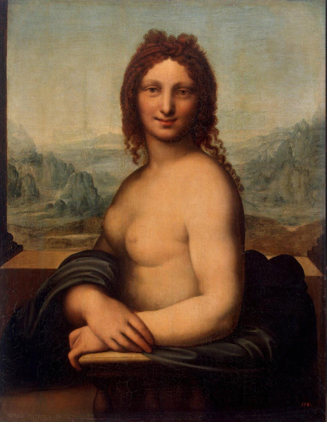 Andrea Salai Donna Nuda, Hermitage.