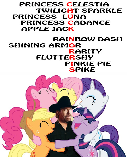 Image: Chuck Norris and MLP | My Little Pony: Friendship is Magic | Know ...