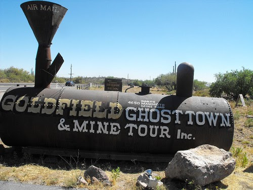 { Goldfield Ghost Town }