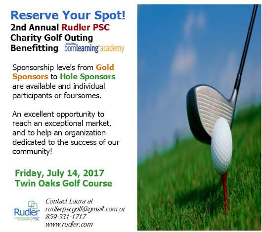 Reserve Your Spot Today! - Rudler, PSC