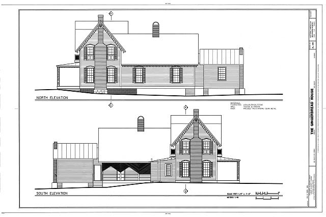 HABS AL-991 (sheet 4 of 7) - Gingerbread House, 405 South Ninth Street, Opelika, Lee County, AL