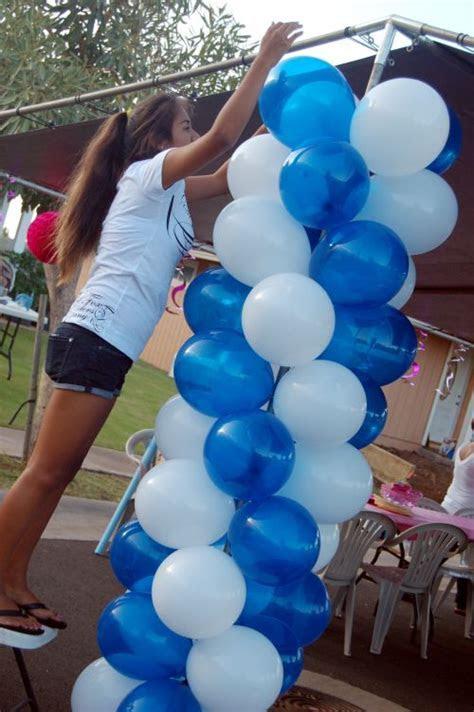 Balloon Columns ? Decorations   Graduation Ideas   Outdoor