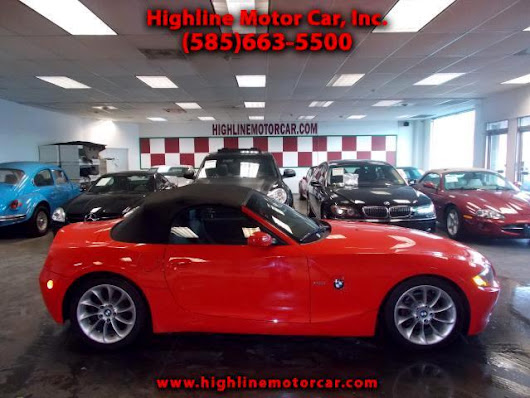 Used 2003 BMW Z4 for Sale in Rochester NY 14615 Highline Motor Car, Inc.