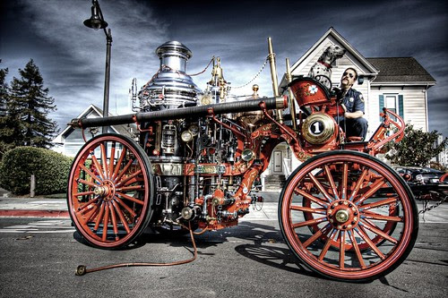 Steam Fire Engine