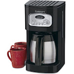 Cuisinart DCC-1150 10-Cup Coffee Maker with Thermal Carafe, Black