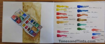 A Review Of Winsor Newton Artists Water Colour Compact Set