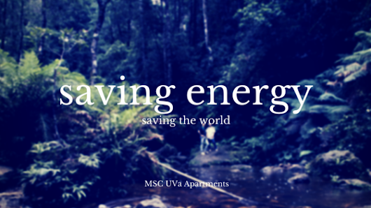 4 Simple Energy Saving Solutions | MSC UVa Apartments
