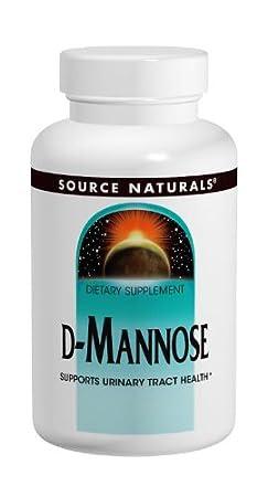 Source Naturals D-Mannose 500mg, 120 Capsules
