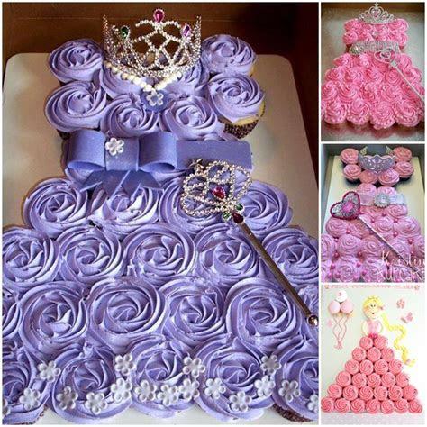 How To Make Princess Pull Apart Cake   BeesDIY.com
