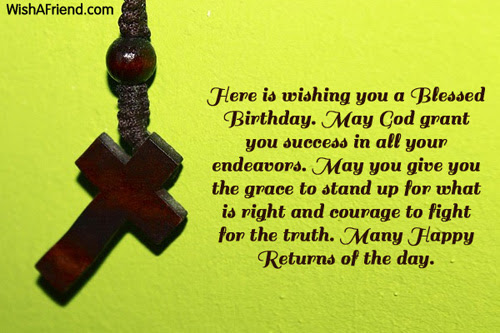Christian Birthday Greetings