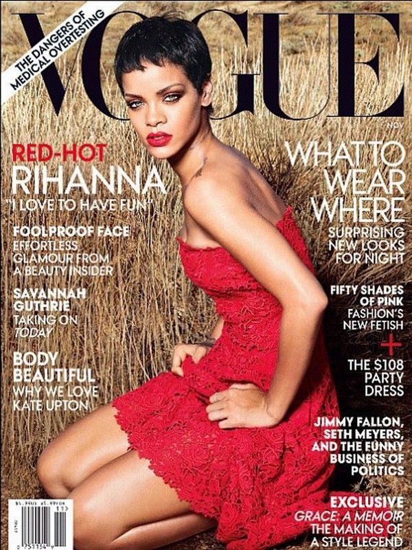 Vogue (November 2012), Rihanna