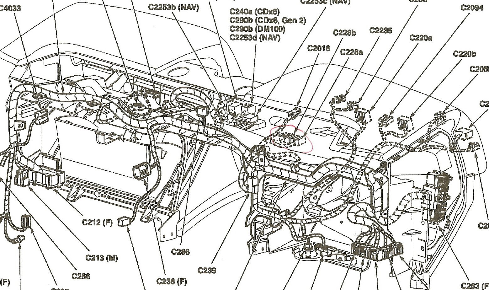 Lincoln Mkz 2007 Fuse Diagram