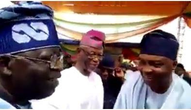 Politics: Tinubu Specially Greets Saraki In Akure, Speaks On Buhari's Health [VIDEO]
