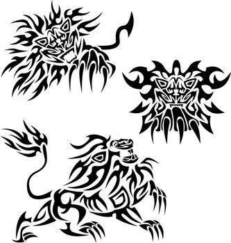Various Tribal Lion Tattoo Designs Ideas Tribal Tattoos Tattoomagz
