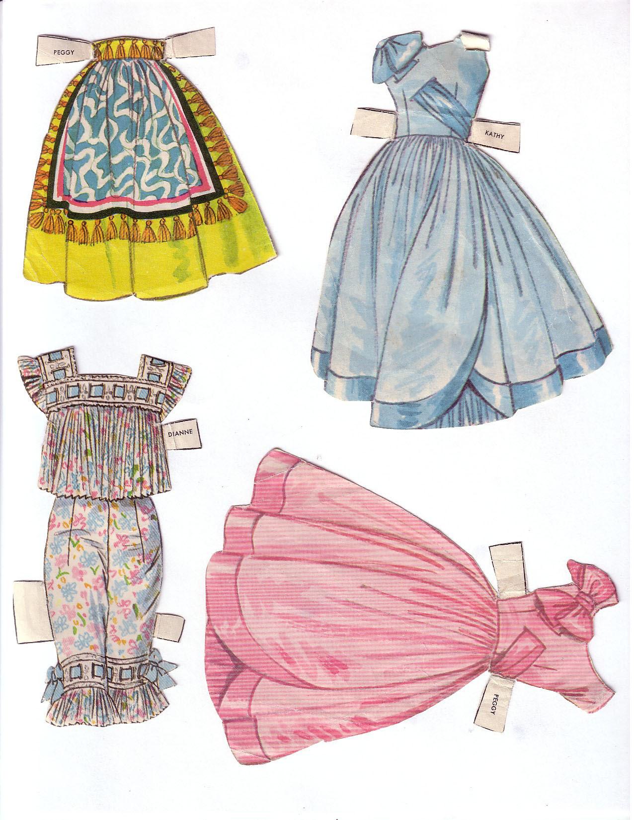 Hayley Mills - Summer Magic paper doll set (1963) 008