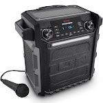 ION Audio Pathfinder Portable Bluetooth Speaker with AM/FM Radio & Microphone by VM Express