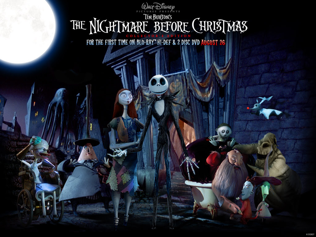 Dark Animation Tim Burton S Nightmare Before Christmas The