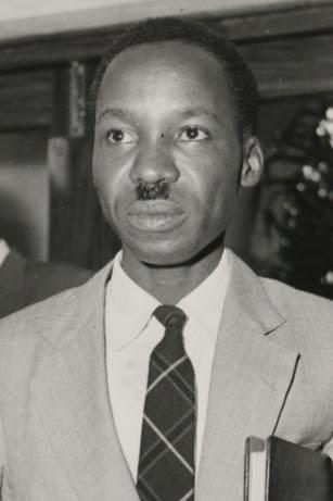 Julius Nyerere as leader of the Legislative Co...