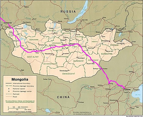 Mongolia with Route