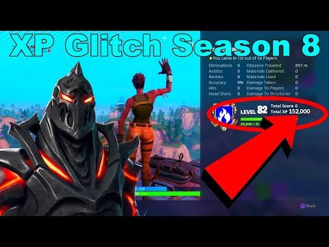 Quickest Way To Get Xp In Fortnite Season 8 | Fortnite