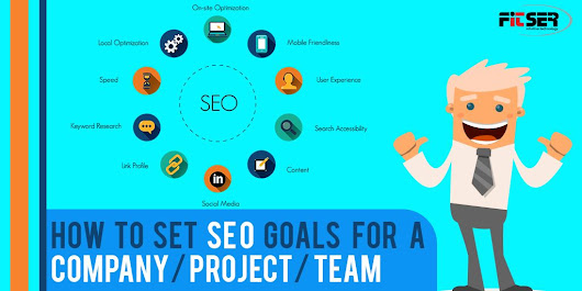 How to set SEO Goals for a Company/ Project/ team…