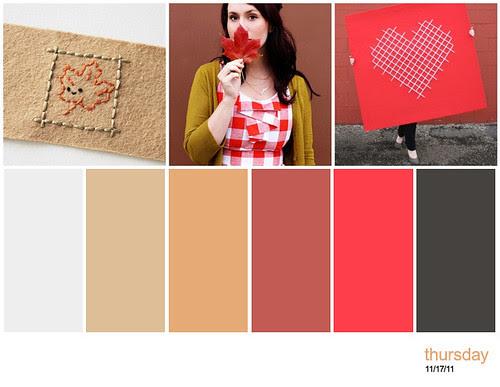 three things + palette
