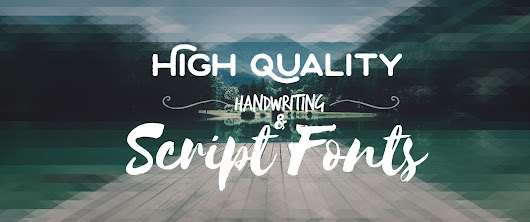 75+ High Quality Free Fonts: Handwriting, Script & Brush Fonts - Web Designer Wall - Design Trends and Tutorials