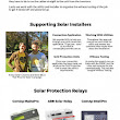 Supporting Solar Installers | Comap MainsPro | MainsPro | eGauge | Bluelog | Visual.ly