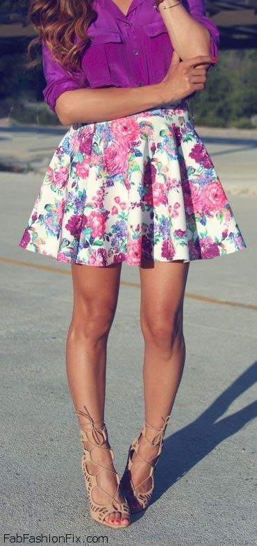FabFashionFix - Fabulous Fashion Fix | Style Guide: How to wear floral prints this spring?