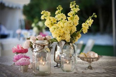 Turid's blog: The Mason Jar Centerpiece Take a mason jar
