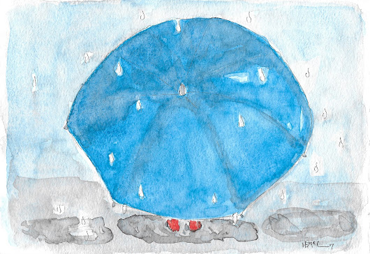Scribble Picnic: Umbrella