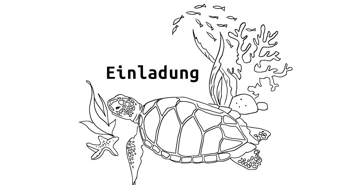 schildkröte malvorlage zum drucken und malen  simple