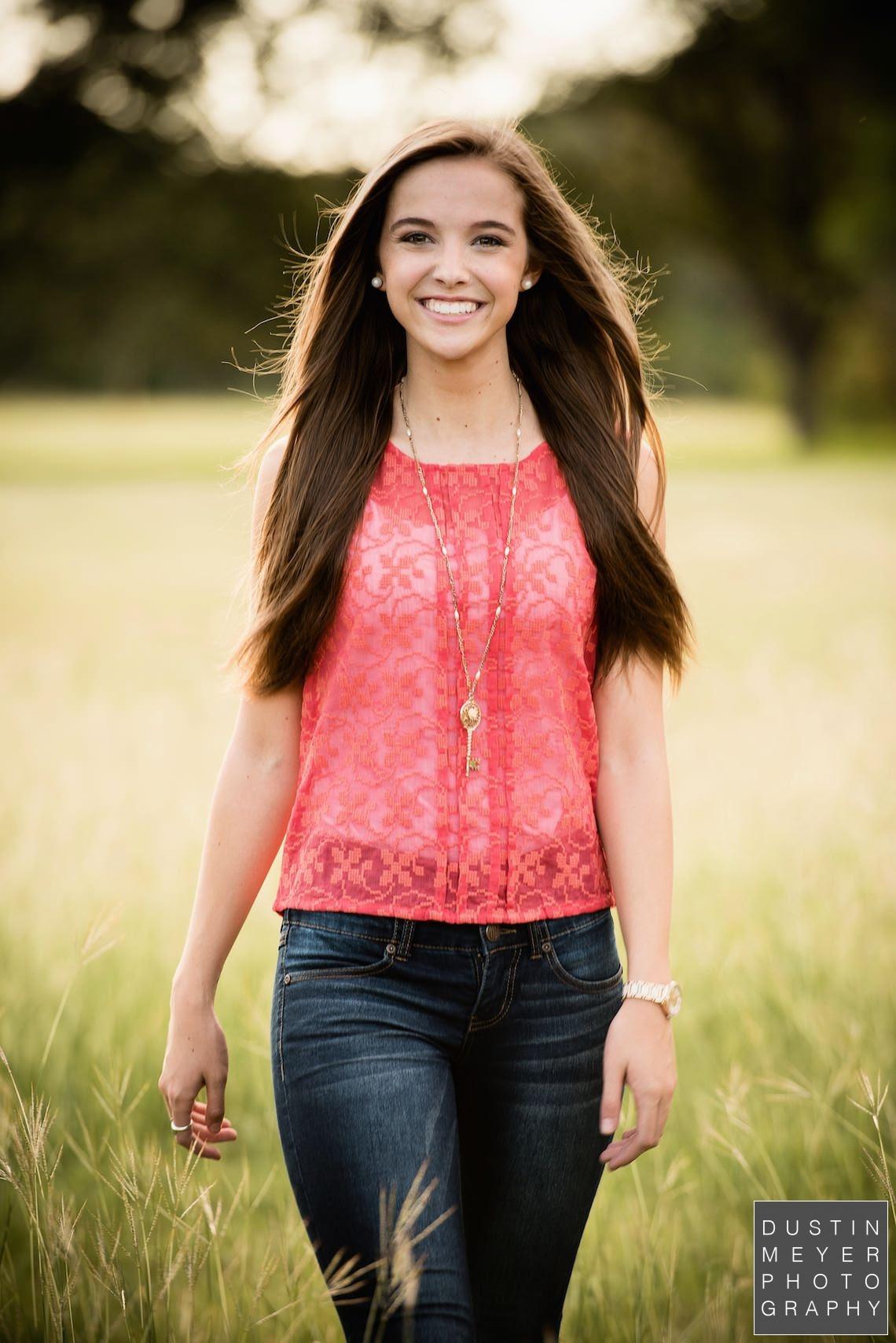 Sneak Peek: Haley | Senior Portraits Austin by Dustin Meyer