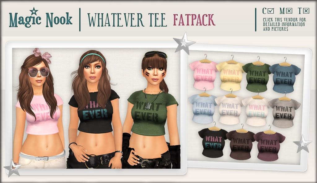 [MAGIC NOOK] Whatever Tee (Fatpack)