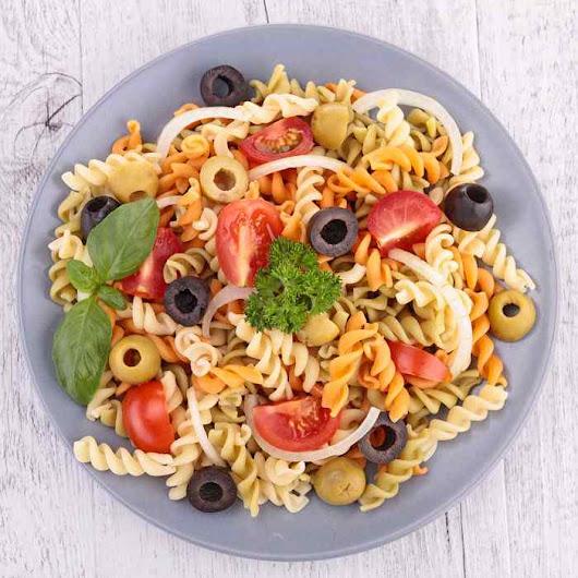 Ensalada de pasta https cocina for Comidas caseras faciles