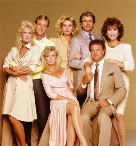 the cast of Knots Landing | Tacky Harper's Cryptic Clues