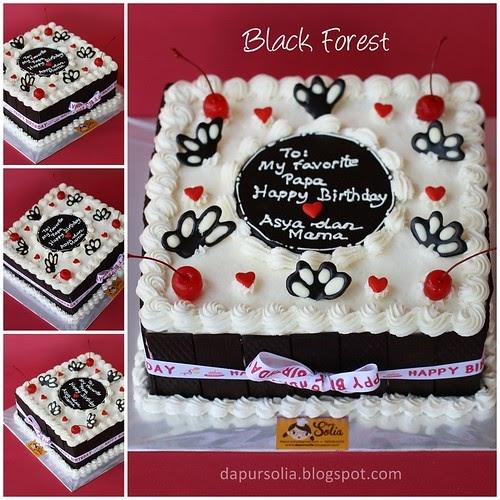 Dapur Solia Black Forest Untuk Papa Asya