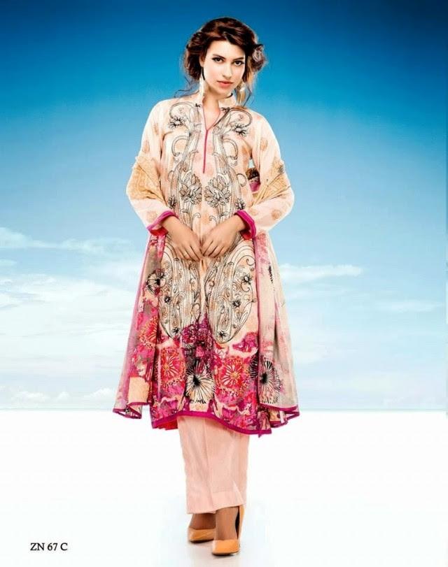 Womens-Girl-Wear-Beautiful-Zari-Net-Fancifull-New-Fashion-Lawn-Dress-by-Five-Star-Textile-12