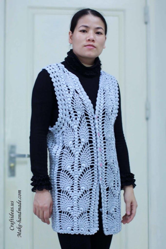 Jumia kenya free women vest tutorial crochet for suit pear
