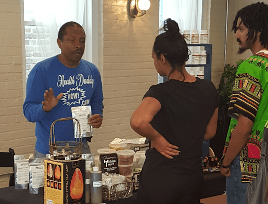 "Louisville 'Earth Day' Celebration, Showcases African-American ""Natural"" Health & Beauty Product Vendors 
