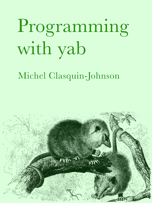 Programming with yab