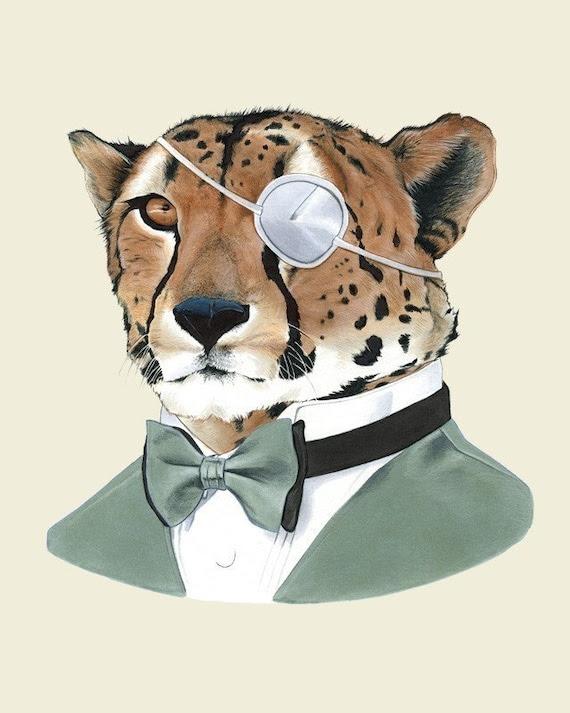 Cheetah print 8x10