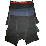 Stashitware Stash Pocket Boxer Brief Variety 3 Packs Men's Black, Blue, Black / Logo