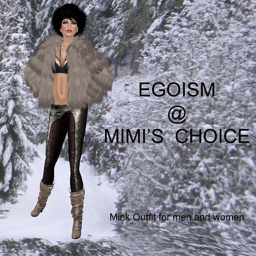 EGOISME NOW @ MIMI'S CHOICE ! by mimi.juneau *Mimi's Choice*