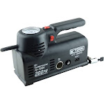 K Tool International KTI89030 120V AC & 12V DC 200 PSI Inflator