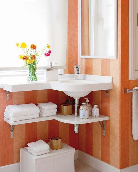 bathroom pedestal sink storage ideas