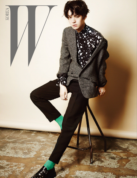 Ahn Jae Hyun - W Magazine August Issue '14