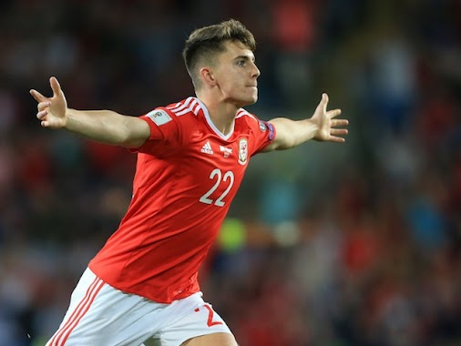 Ben Woodburn scores a debut goal to give Wales a crucial World Cup qualifying win over Austria at the...